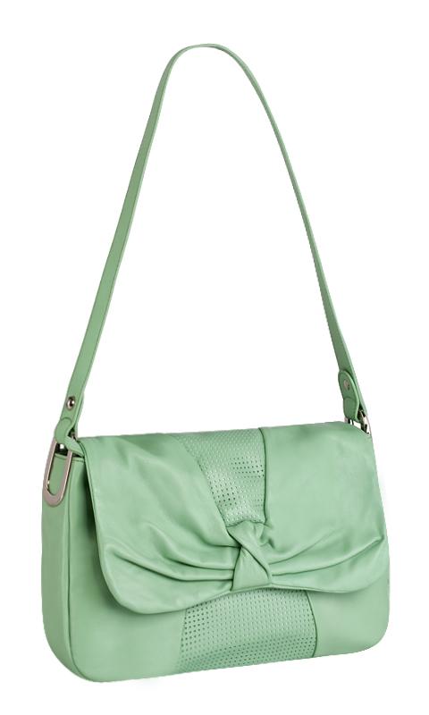 Женская сумка Palio выполнена из натуральной матовой кожи...