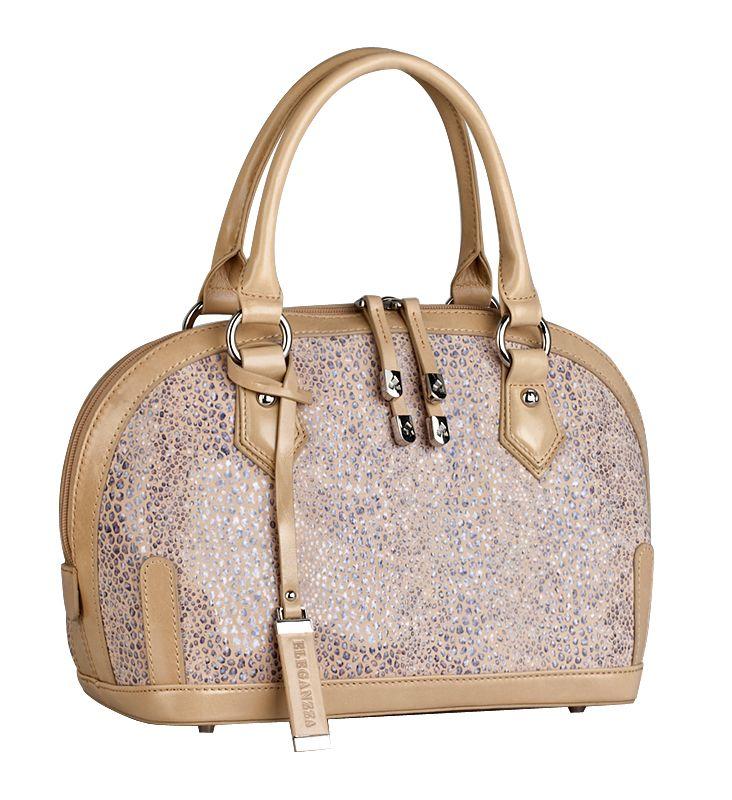Женская сумка торговой марки ELEGANZZA выполнена из натуральной кожи...