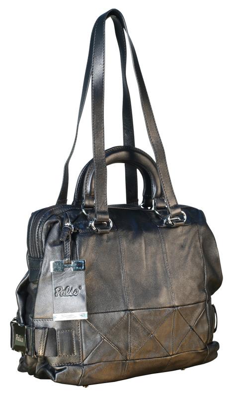 Elitdress.ru.  Женская сумка PALIO из натуральной кожи черного цвета.