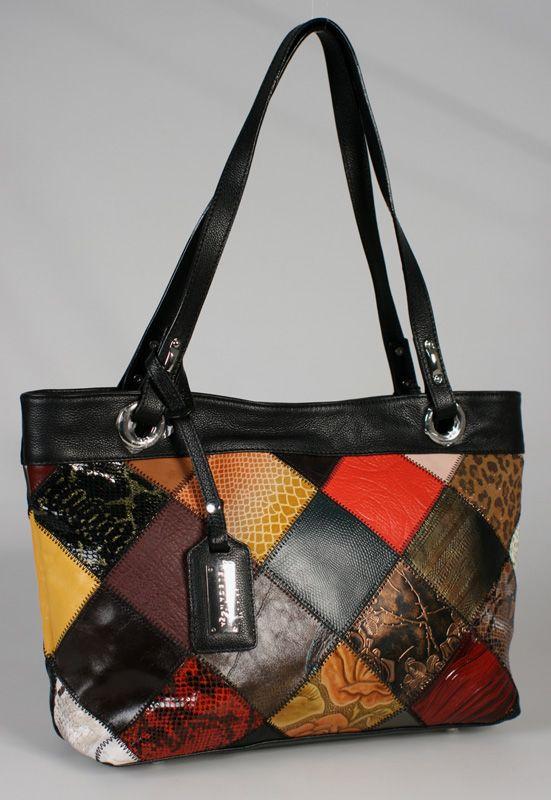 выкройки стильных женских сумок