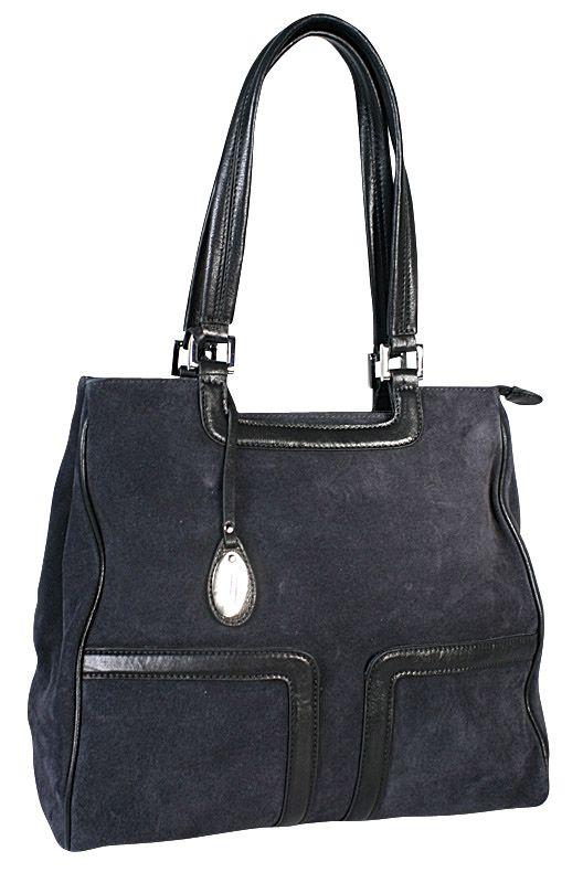 Замшевая сумка Palio, цвет: темно-синий.
