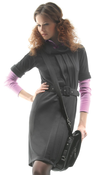 женская мода в полоску