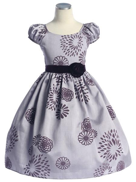Как сшить детское праздничное платье.