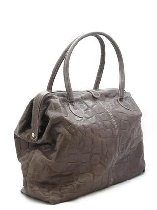 Престижная новость нашего веб магазина .  Кожаная сумка саквояж из фактурной кожи с отдушкой аромата...