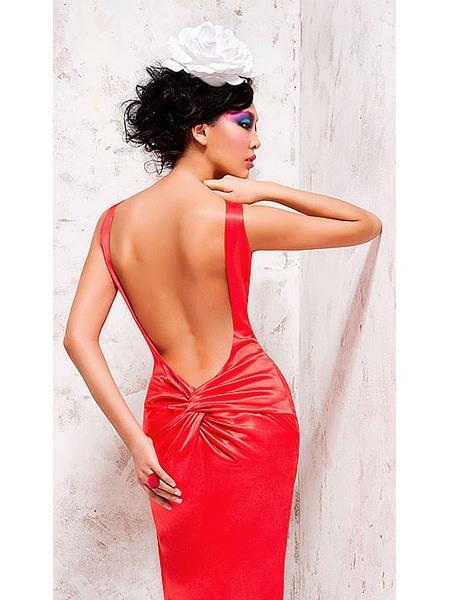 Платье с открытой спиной - Фото Вечернее Свадебное.