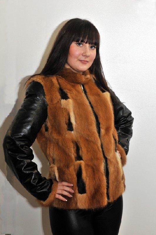Кожа куртка мех своими руками 871