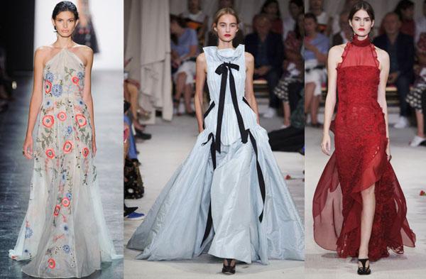 Экзотическое вечернее платье модный показ - Модадром b1abff5c721