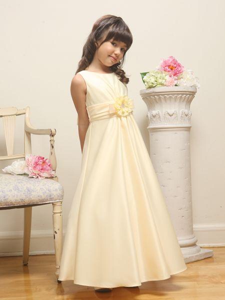 Длинное платье для девочек своими руками 90