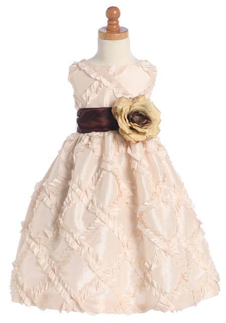 """Детское платье  """"Нежно-розовый цветок """""""