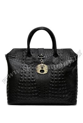 Чёрная женская сумка Caiman - kupiremen.ru - ремни, сумки, кошельки, галстуки.