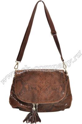 Итальянские сумки - Сумка из натуральной кожи. изделие закрывается на молнию и магнитную кнопку;- 2 внешних кармана...
