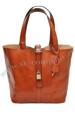 Итальянские сумки - Сумка из натуральной кожи.