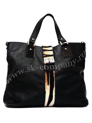 Женская сумка из кожи и меха Sauvage &  "Cavallino " - kupiremen.ru - ремни, сумки, кошельки, галстуки.