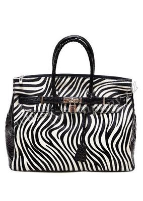 Стильная сумка Giglio Fiorentino 0003-07 из натуральной кожи чёрного цвета.