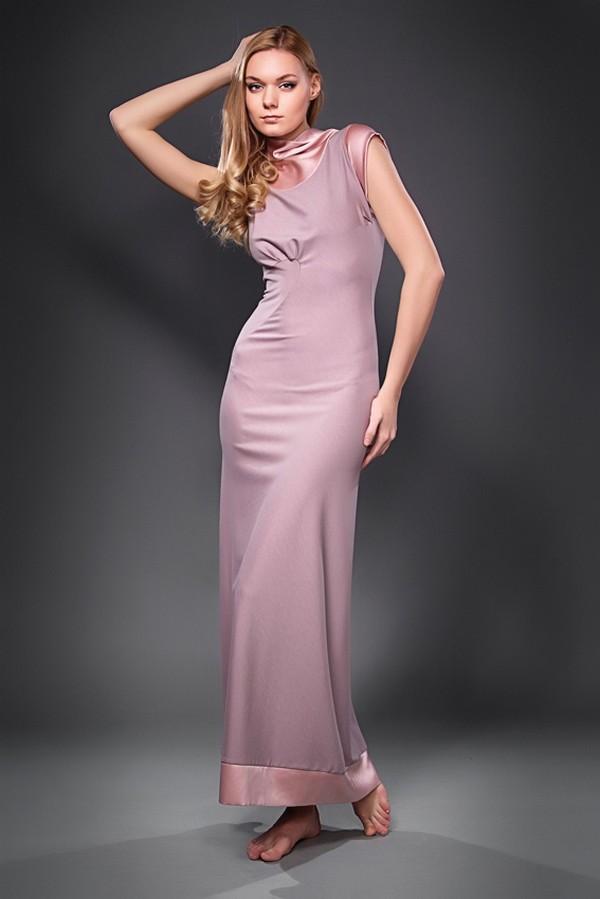 Платье в пол розового цвета купить в интернет-магазине, цена.