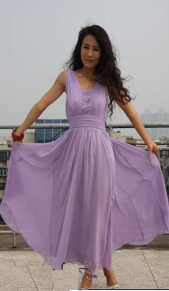 Платья в пол из шифона фото. выкройки