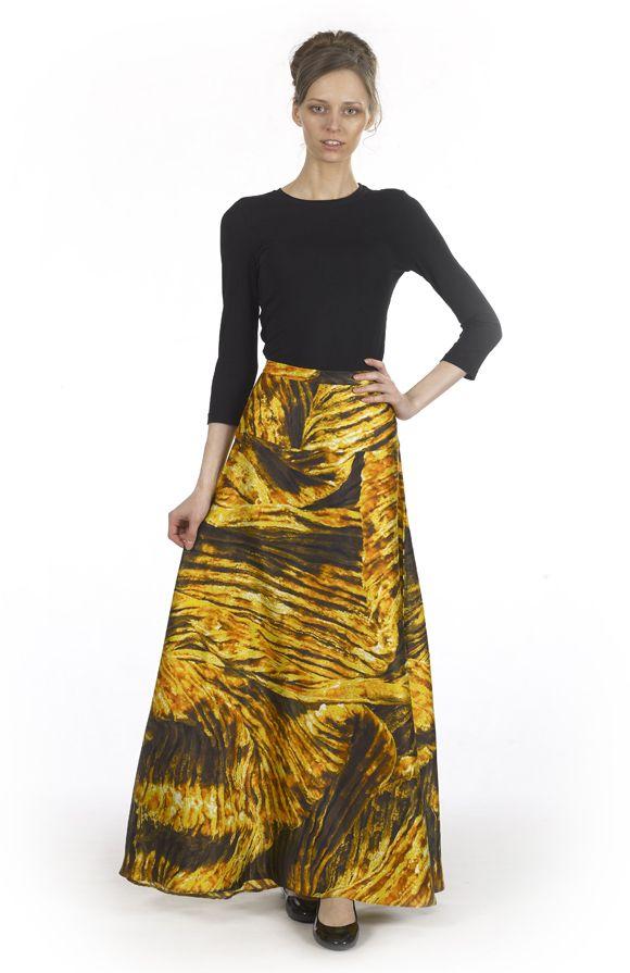 Длинная юбка из золотистого шелка · Rob-Art. 10800руб. / 1080руб