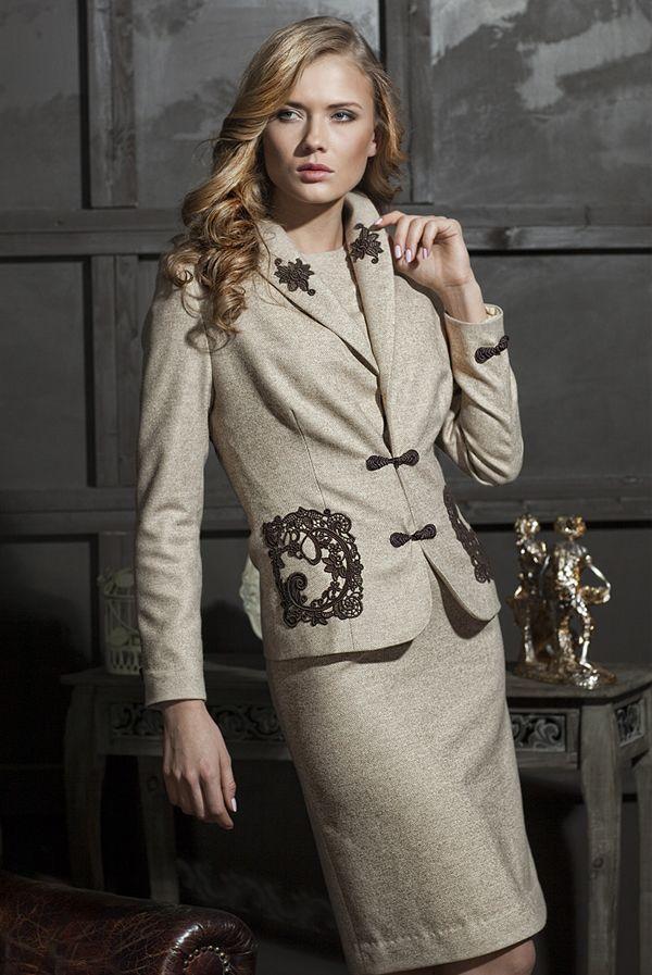 Элитные женские костюмы и платья