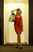 PR-менеджер Маргарита в платье от дизайнеров  Анастасии и Ольги Калашниковых